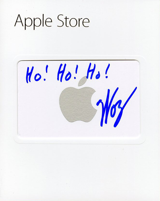 Ho! Ho! Ho! $20 Apple Store Gift Card