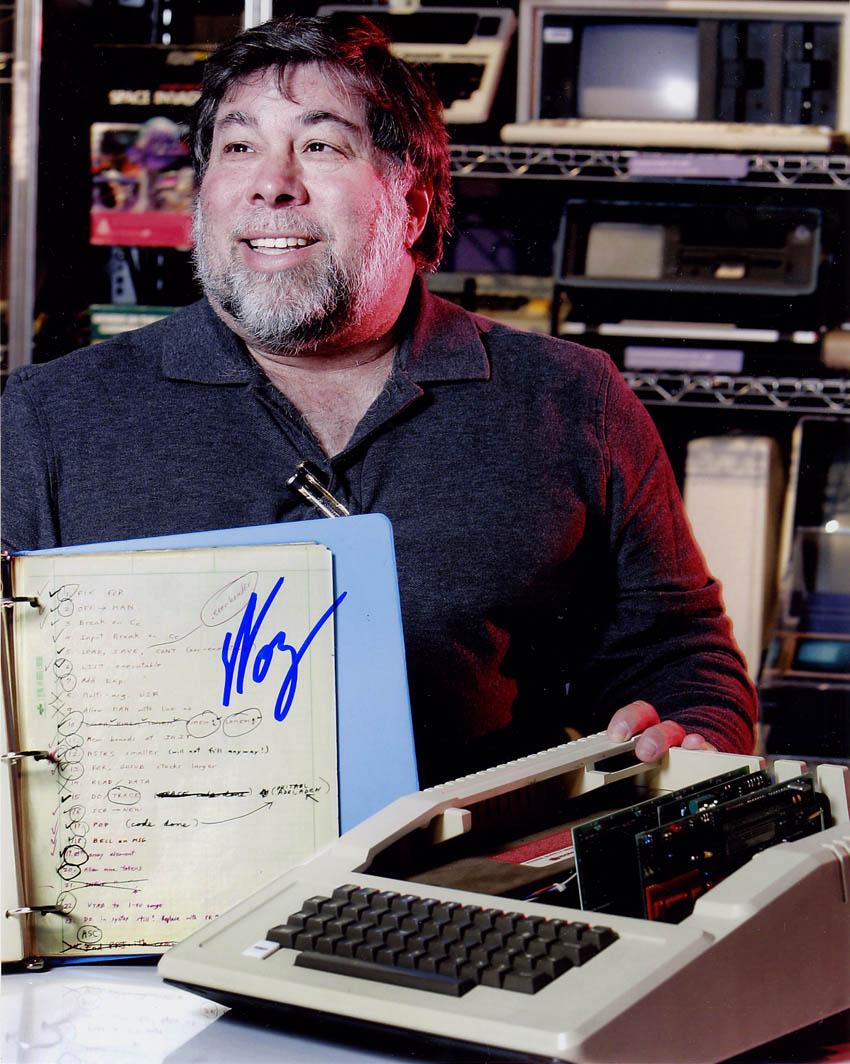 Steve Wozniak w/ Apple ][