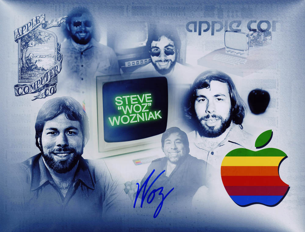 Steve Wozniak Composite Photo