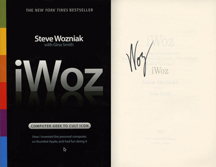 Signed iWoz Softcover